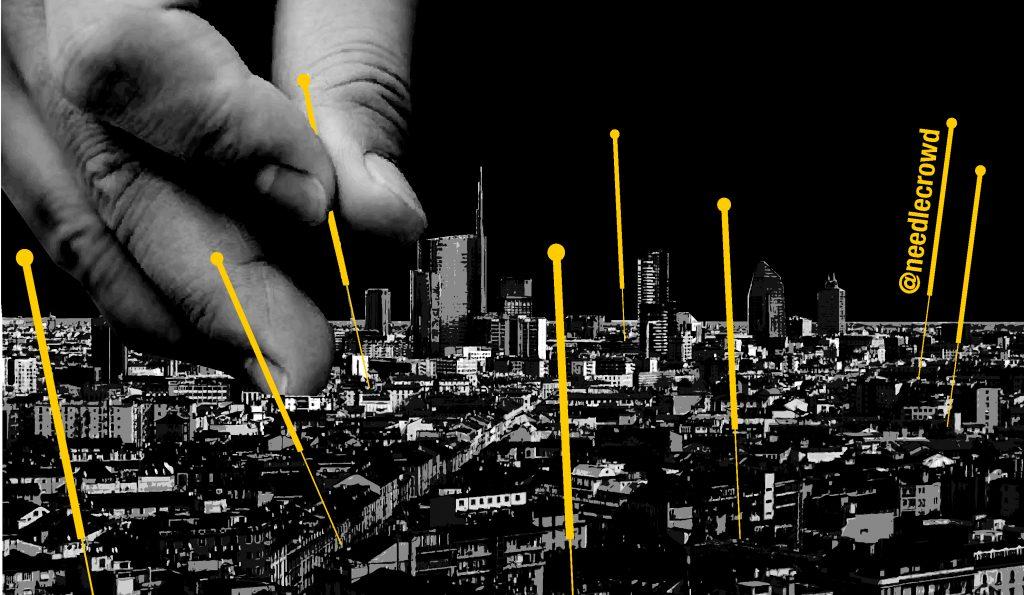 Agopuntura urbana stilizzata