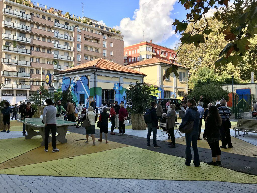 La piazza tattica di Largo Balestra